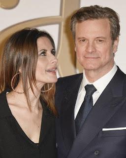 Colin Firth & Livia Giuggiol