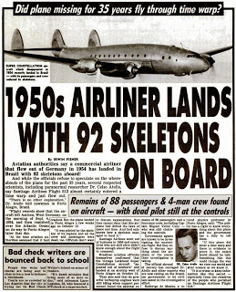 Mysterious Reappearance of Flight 513