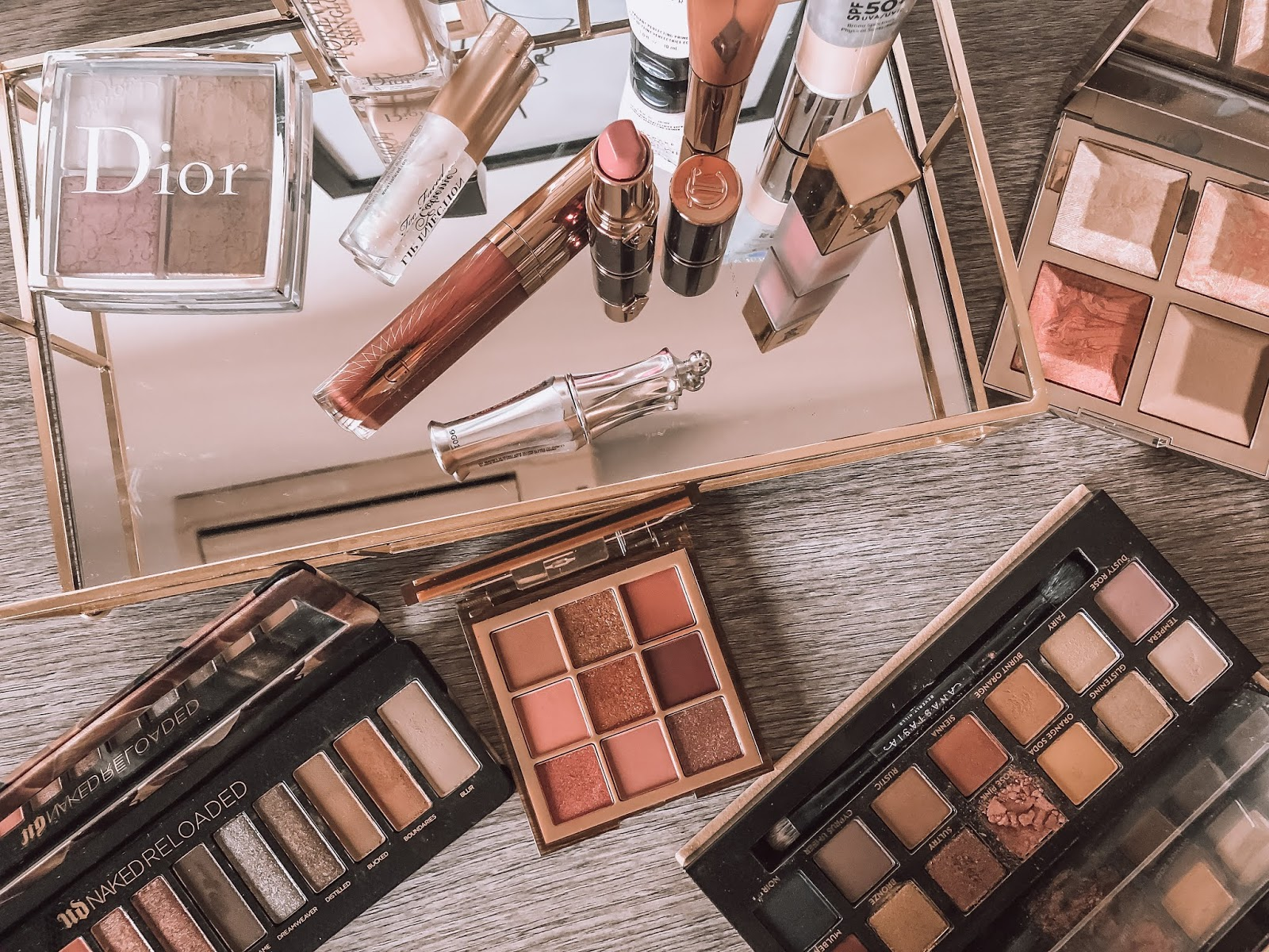 2019 beauty favorites, charlotte tilbury, dior, it cosmetics, abh, becca, huda,