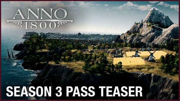 Anno 1800 Season 3 Pass Announced