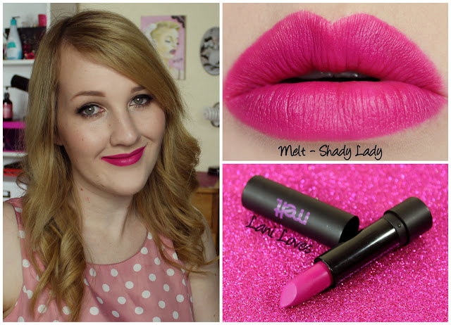 Melt Cosmetics Shady Lady Swatches & Review