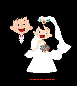 Vector Thiệp cưới