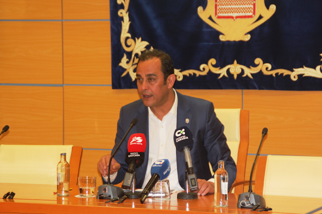 blas acosta. presidente cabildo fuerteventura - Cabildo de Fuerteventura suspende todas las actividades públicas con independencia del número de personas que congreguen