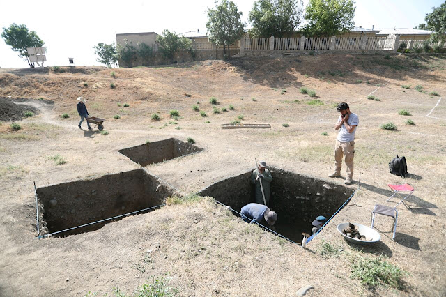 Excavation sheds new light on mysterious capital of Medes in Ecbatana