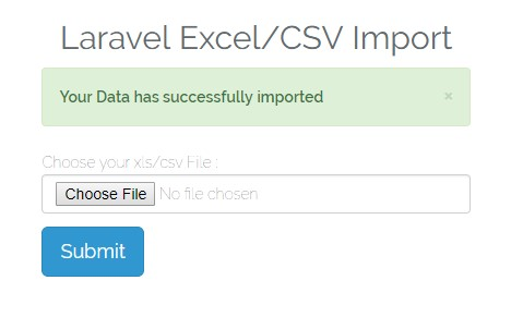 How to import Excel File in Laravel and Insert Data in the Database