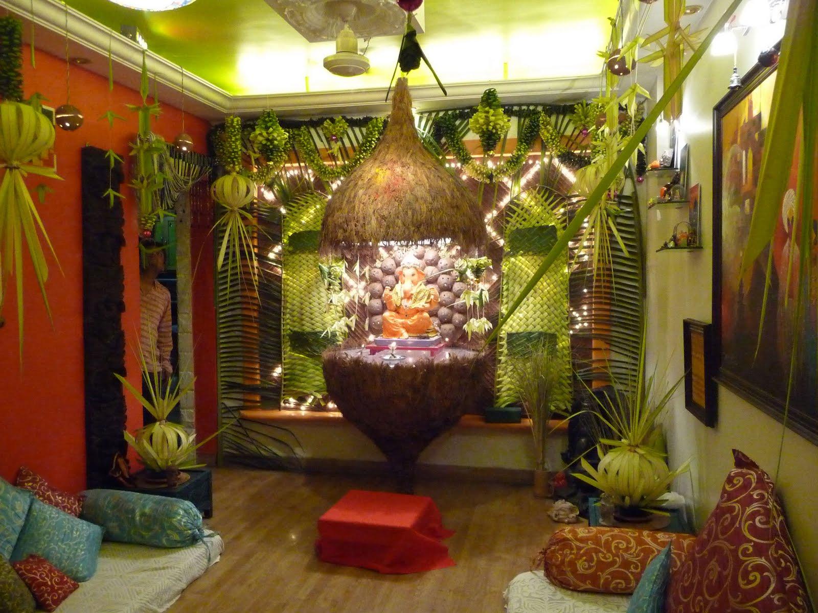 Simple wedding stage decoration at home  Jitesh Mamania jiteshmamania on Pinterest