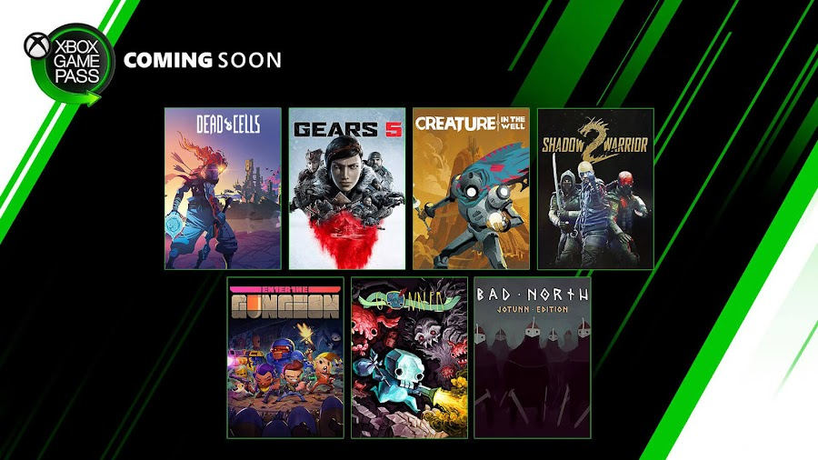 xbox game pass bad north jotuun edition creature in the well dead cells enter the gungeon gears 5 gonner blüeberry edition metal gear solid hd edition 2 & 3 shadow warrior 2 xb1 2019