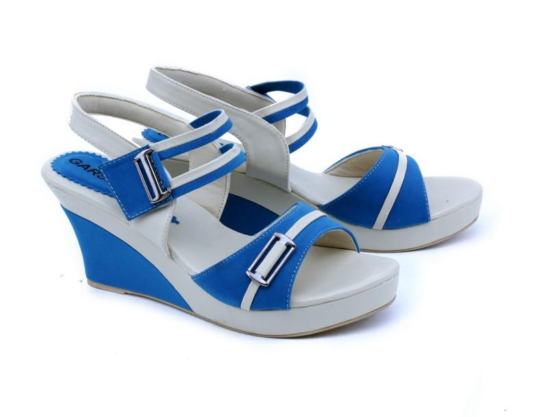 Garsel Shoes, Wedges, Women, Sepatu,