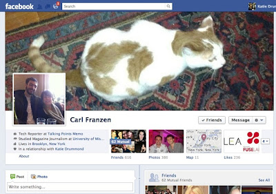 New Facebook Timeline Image 2012