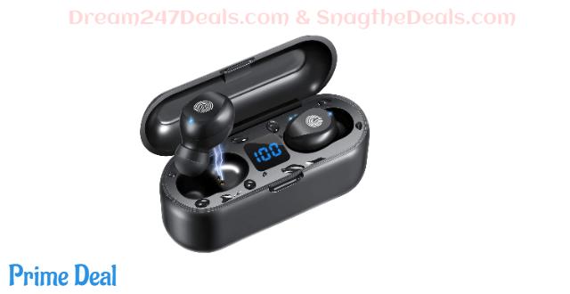50% off  Bluetooth5.0 Wireless Earbuds