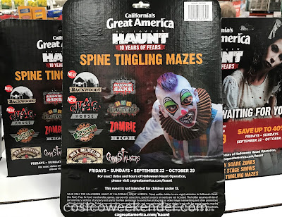 Costco 1181388 - Enjoy zombies and monsters at Halloween Haunt in Great America