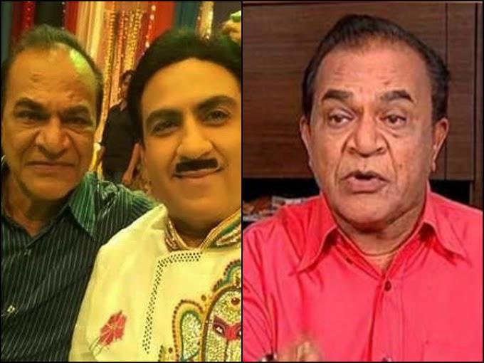 """Nattu Kaka on the popular sitcom """"Taarak Mehta Ka Ooltah Chashmah"""", passed away"""