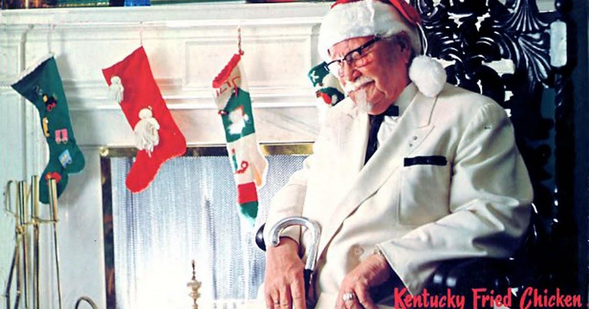 Christmas Carol Colonel Sanders 2021 Unforgettable Christmas Music Christmas With Colonel Sanders Kentucky Fried Chicken