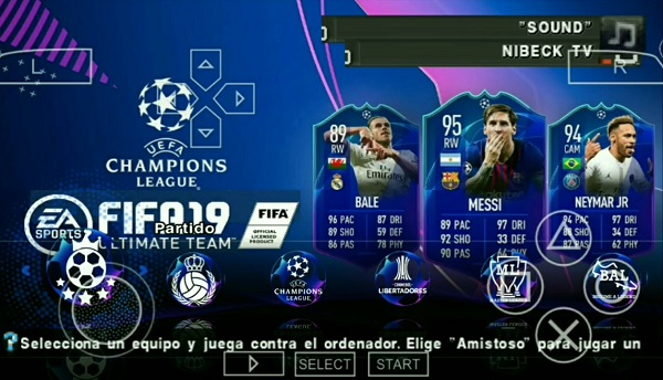 FIFA 19 PPSSPP Iso/Cso For Android