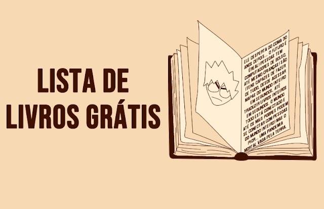 Lista de livros grátis! Aproveita!