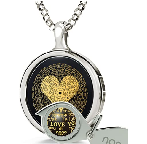 Necklace 24k Gold With 120 Languages