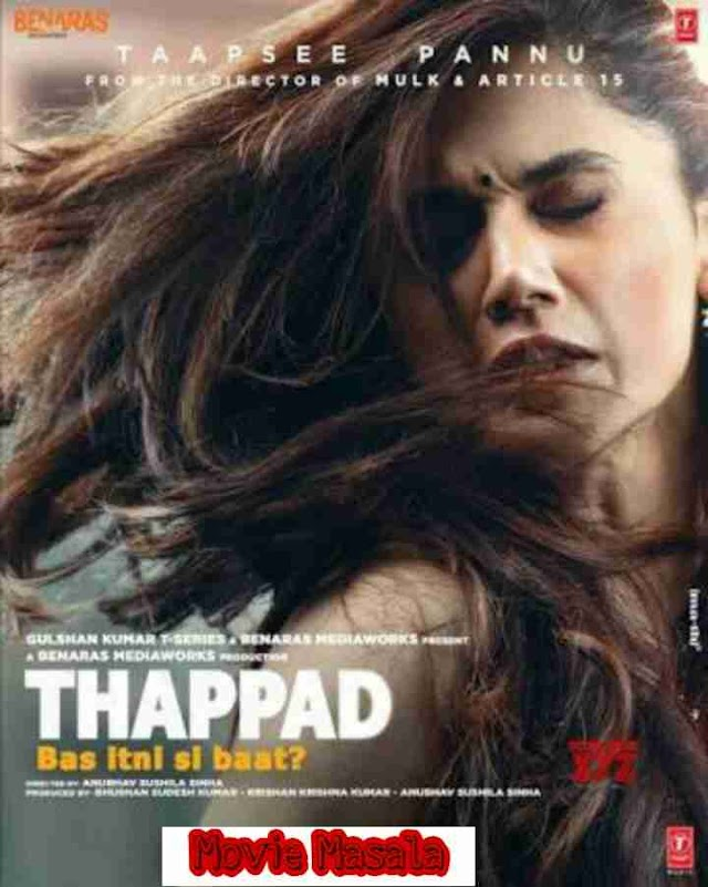 Thappad Movie 2020 Story Cast Review and Release Date - Moviemasala