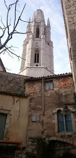 Campanario de la Iglesia de Sant Feliu.