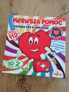 Recenzja gry planszowej pierwsza pomoc, atrakcyjne wakacje z dzieckiem