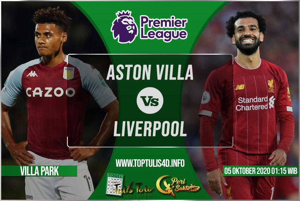 Prediksi Aston Villa vs Liverpool 05 Oktober 2020