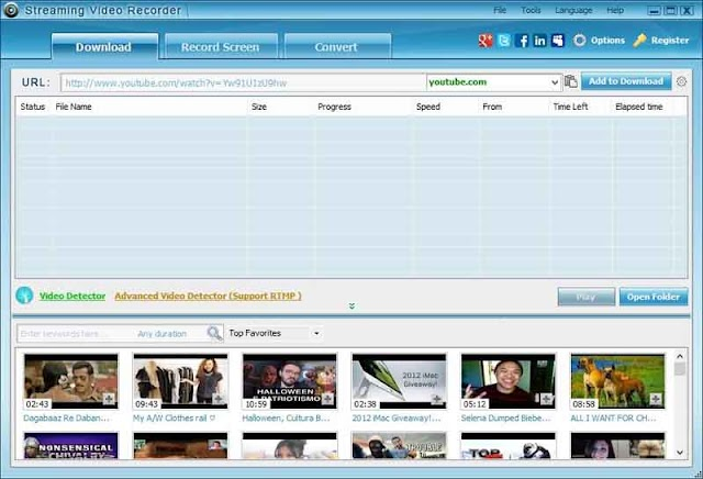 Apowersoft Streaming Video Recorder 6.4.7 - Phần mềm ghi video trực tuyến