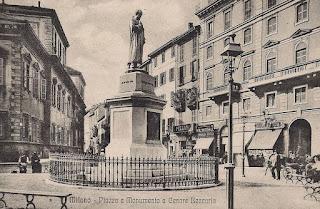 statua beccaria piazza grandi