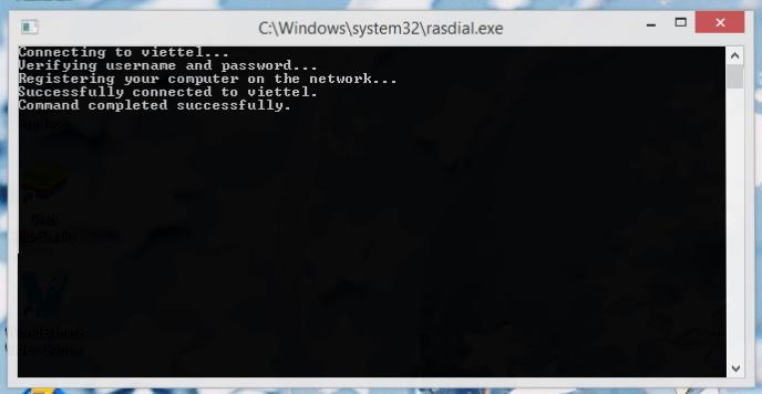 Reset 3g bằng CMD – Tự động kết nối qua Dcom 3G Viettel bằng CMD