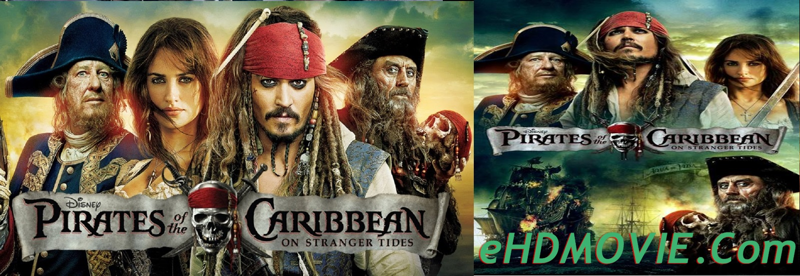Pirates of the Caribbean: On Stranger Tides 2011 Full Movie Dual Audio [Hindi – English] 720p – 480p ORG BRRip 350MB – 900MB - 1.4GB ESubs Free Download