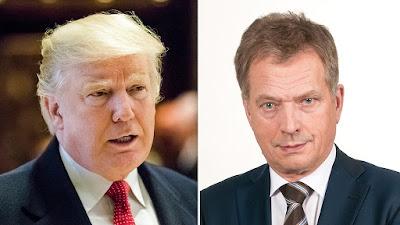 Finnish President Niinisto to meet Trump in White House