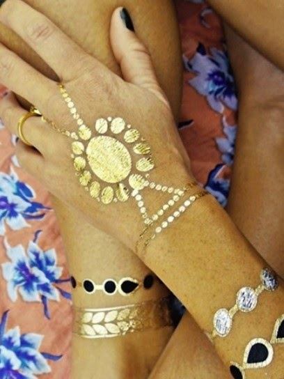 IMMAGINE: SCOPRI I FLASH TATTOOS, L'ULTIMA TENDENZA BEAUTY