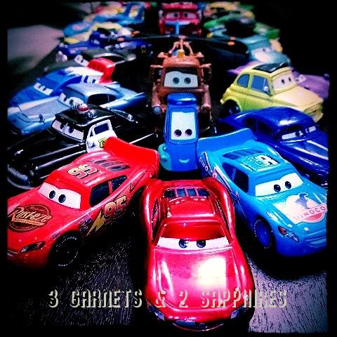 3 Garnets 2 Sapphires Free Printable Disney Pixar Films Cars