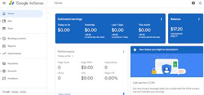 What is Google Adsense Account?