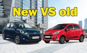Comparison : Hyundai Grand i10 Nios VS old model