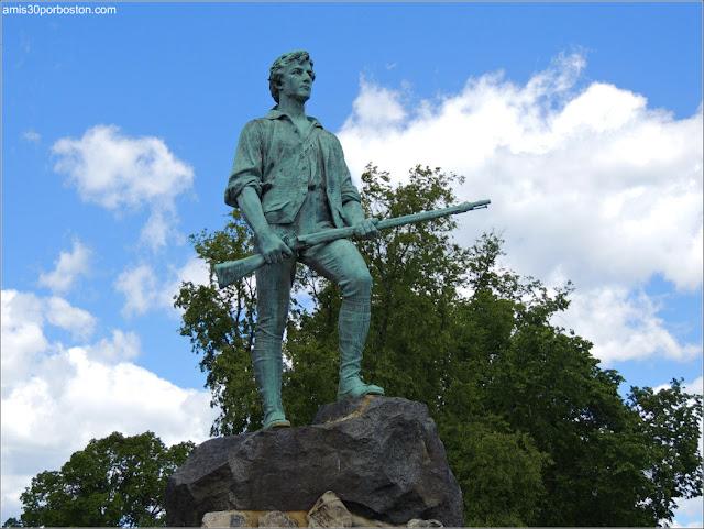 Minuteman Statue en Lexington, Massachusetts