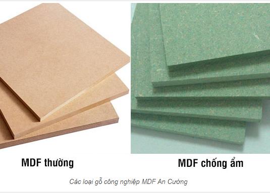 Cùng tìm hiểu về gỗ công nghiệp MDF chống ẩm