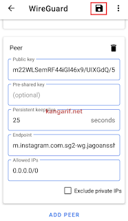 Cara Menggunakan Akun WireGuard di Smartphone Android