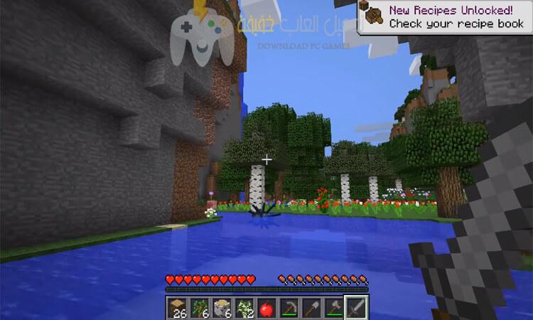 تحميل لعبة Minecraft للكمبيوتر