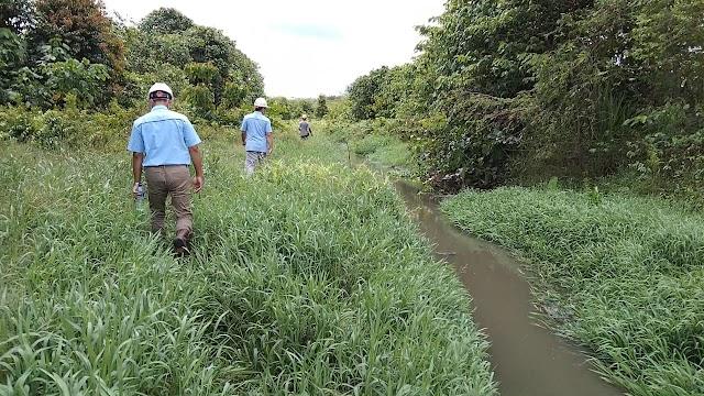Andriadi : Dugaan Lokasi Pencemaran Limbah Yg di Tinjau Pihak Perusahaan Tidak Sesuai Dengan  Lokasi Narasumber