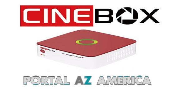 Resultado de imagem para CINEBOX MAESTRO PLUS PORTAL AZAMERICA