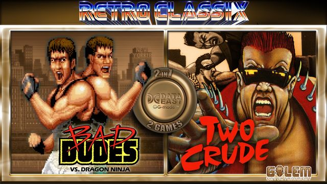 Retro Classix 2in1 pack: Bad Dudes & Two Crude Dudes v1.0 NSP XCI For Nintendo Switch