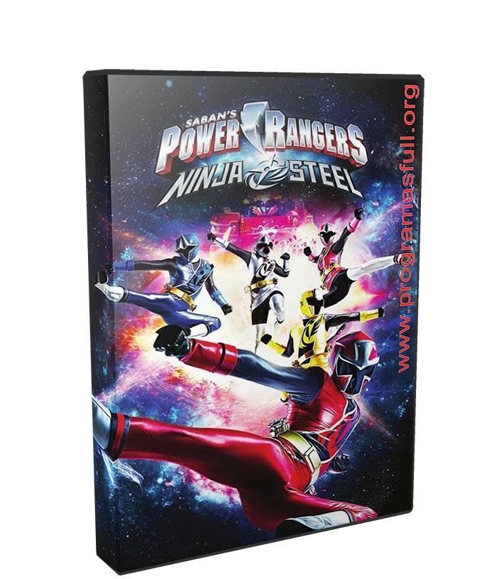 Power Rangers Ninja Steel Temporada 1 poster box cover