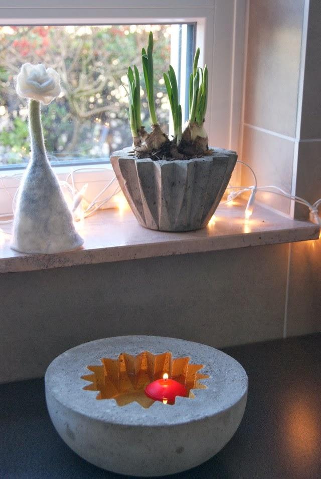 filz und garten gartenblog betonkunst in my kitchen. Black Bedroom Furniture Sets. Home Design Ideas