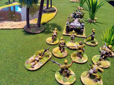 Bolt Action - Japanese behind Tank