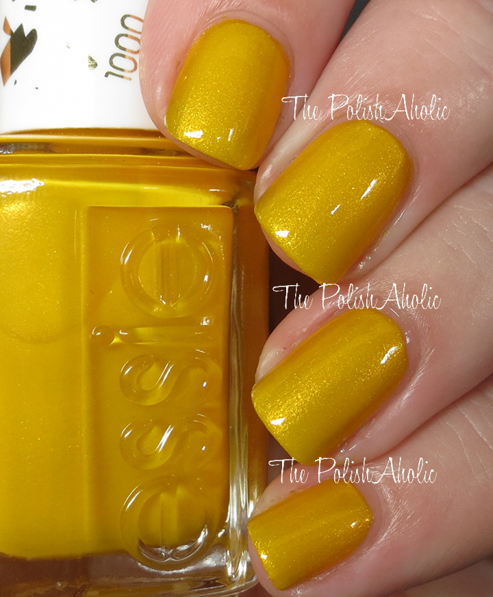 The PolishAholic: Essie Aim To Misbehave Swatch & Review
