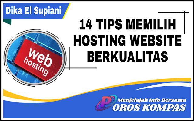 Tips Memilih Hosting Website Berkualitas