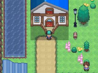 Pokemon Ozone para Android Primer Pueblo de Inicio