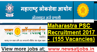 Maharastra-PSC-Recruitment-2017-(155 Vacancies)