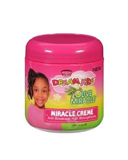 Crema capilar para niños pelo afro