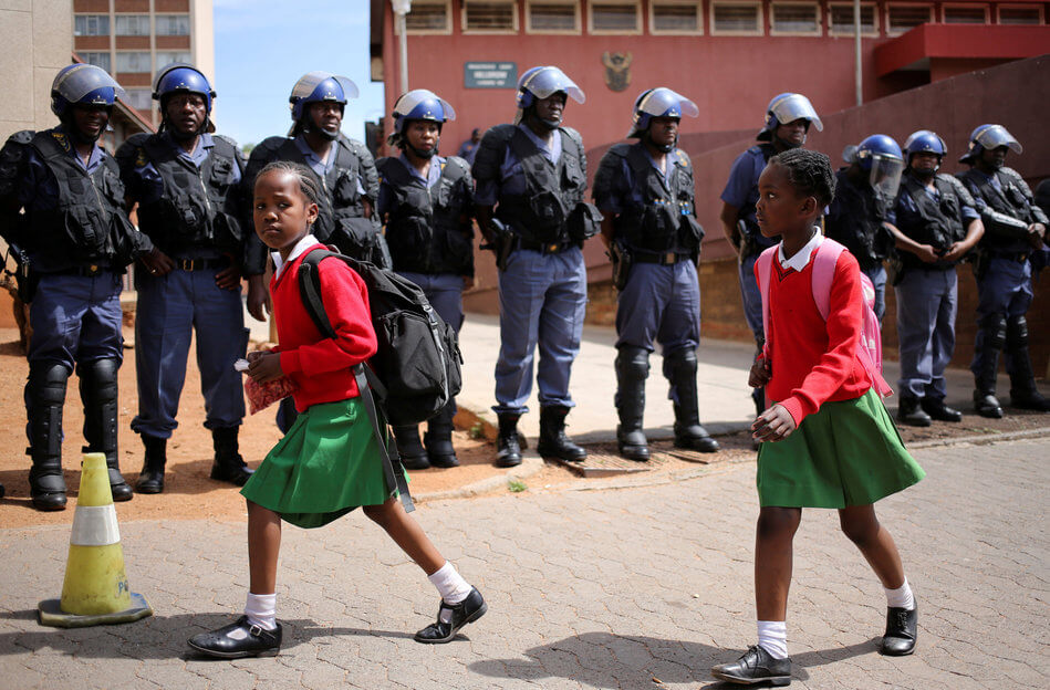 55 Stunning Photographs Of Girls Going To School In Different Countries - South Africa