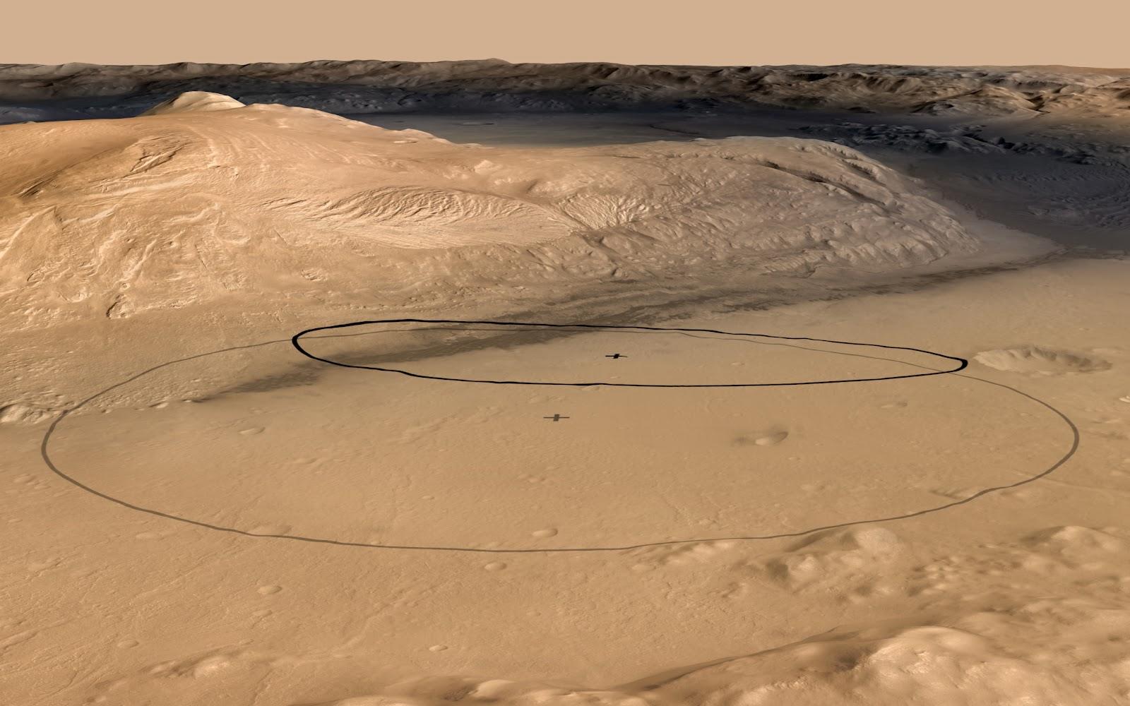 mars rover landing photos - photo #38